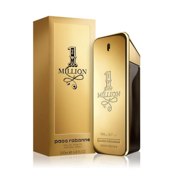 Paco Rabanne 1 Million For Man EDT 200ml (Original)