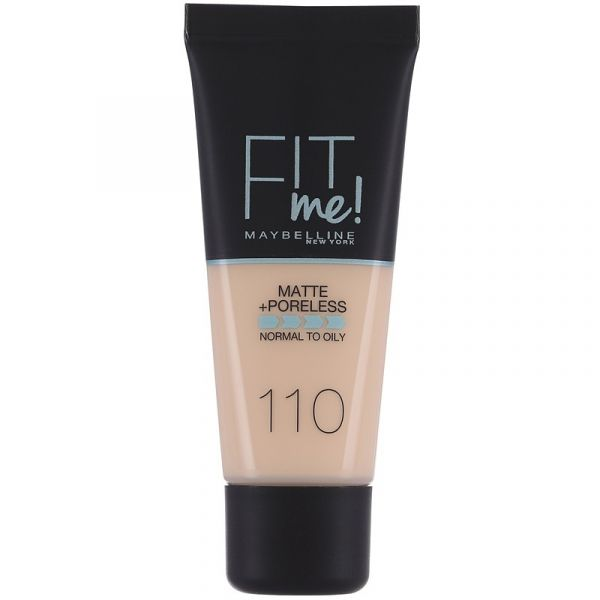 fit me matte and poreless 110