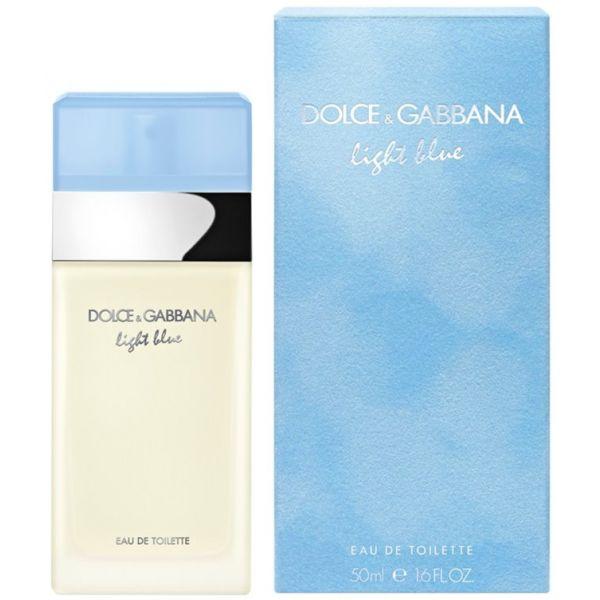 Dolce & Gabbana Light Blue For Woman EDT 50ml (Original)
