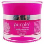 Gel Construtor Purple Tom Milky White / Branco Leitoso 15g