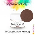 GL Nails Dipping Powder Brown 25g