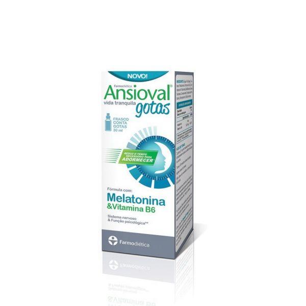 Farmodiética Ansioval Melatonina & Vitamina B6 Gotas 30ml