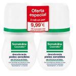 Somatoline Cosmetic Transpiração Excessiva Deo Roll-on 2x40ml