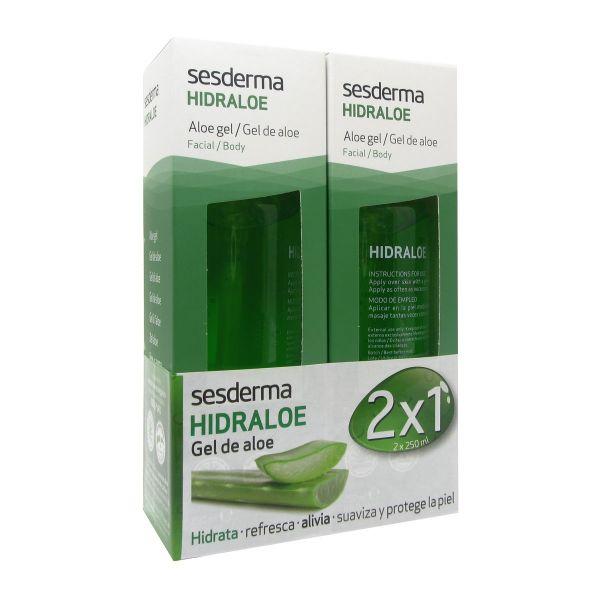 Sesderma Hidraloe Aloe Vera Body Gel 2x250ml - Compara preços