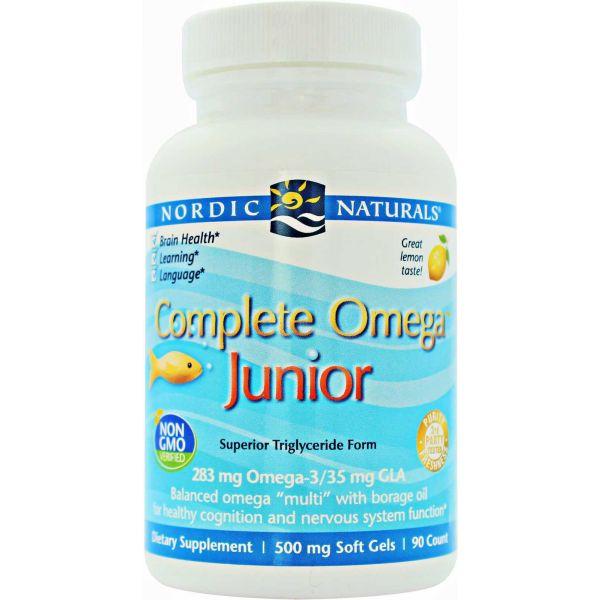 Nordic Naturals Complete Omega Junior 90 cápsulas