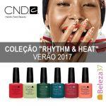 CND Shellac Verniz de Gel Coleção Rhythm & Heat Verão 2017