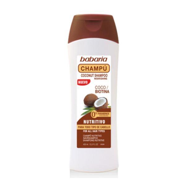 Shampoo Babaria Côco/Biotina 400ml