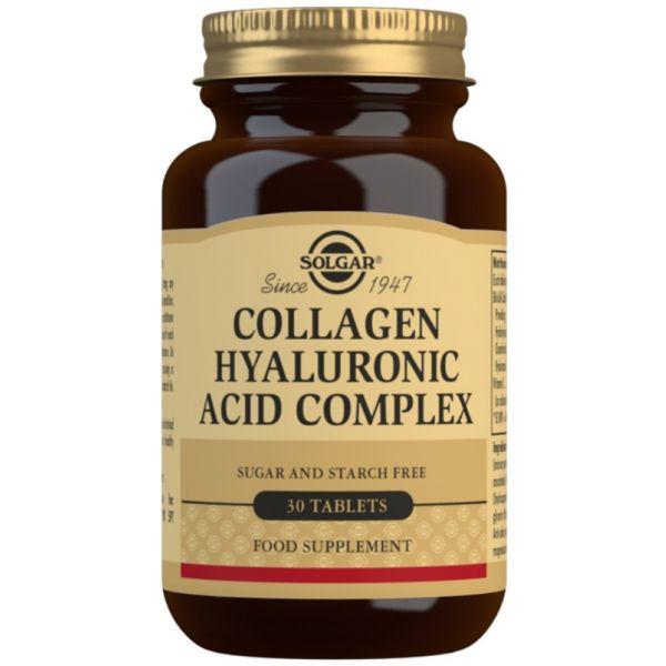 Solgar Hyaluronic Acid Complex 120mg 30 Comprimidos