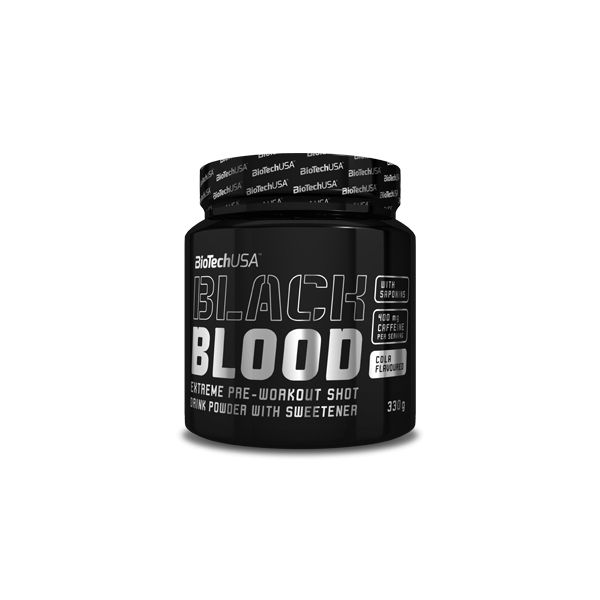 Biotech Black Blood CAF+ 300g neutro