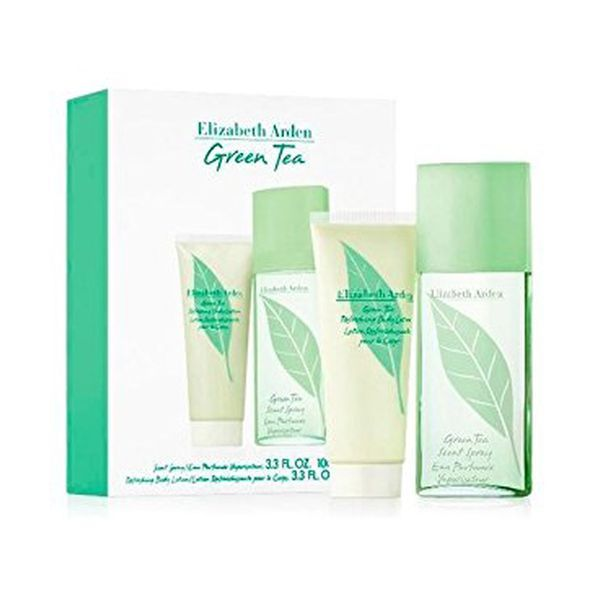 Elizabeth Arden Green Tea Woman EDP 100ml + Loção Corporal 100ml Coffret