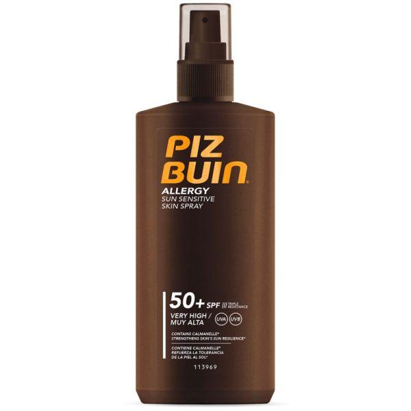 Protetor Solar Piz Buin Allergy Spray SPF50 200ml