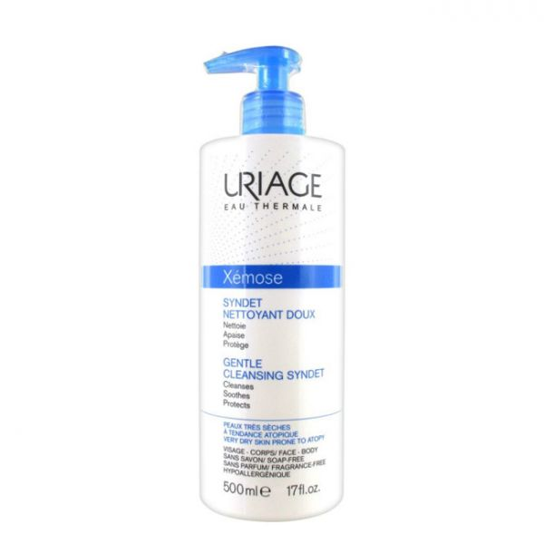 Uriage Xémose Syndet Gel de Limpeza Suave 500ml