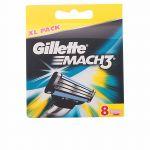 Gillette Lâminas Mach 3 8 unidades