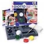 Giotto Pack 5 Tintas Pintura Facial Make Up - 160470100