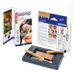 Giotto Pack 6 Lápis Pintura Facial Make Up - 47457