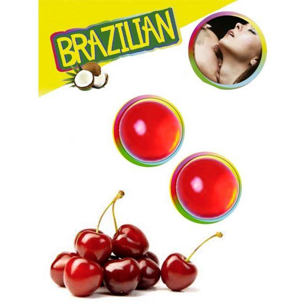 Secret Play Brazilian Balls Cereja 2 Unidades