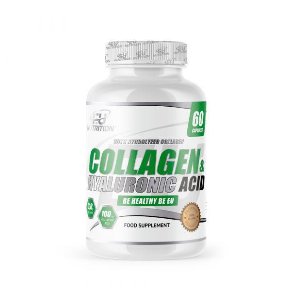 EU Nutrition Collagen & Hyaluronic Acid 60 cápsulas