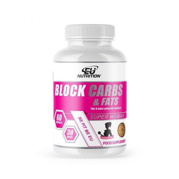 EU Nutrition Block Carbs & Fats 60 cápsulas