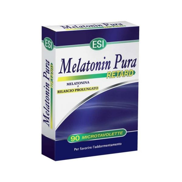 ESI Melatonina Pura Retard 1mg 90 Comprimidos