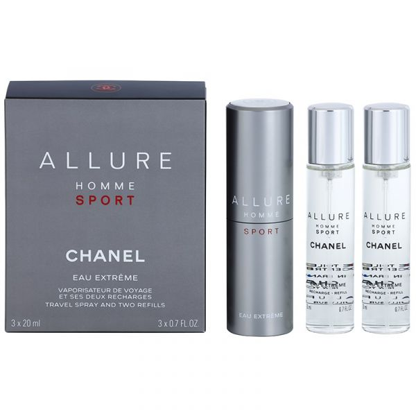 7ddbd4bb1 Perfume Homem Chanel Allure Homme Sport Eau Extreme Man EDT 3x20ml ...