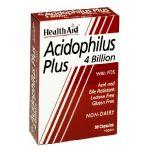 Health Aid Acidophilus Plus 4 Billion 30 Capsulas