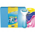 Scholl Velvet Smooth Pack Electric Nail File Foot + 1x Rotary Head + 4x AA Batteries + 1 Cover + Hard Skin Softening Cream 60ml