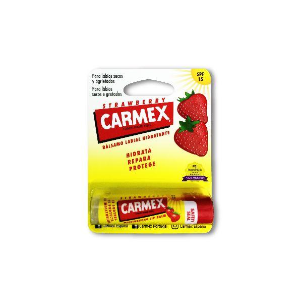 Carmex Stick Labial Morango SPF15 4,25g