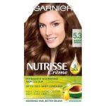 Garnier Nutrisse Creme Coloração Tom 5.3 Castanho Claro Dourado