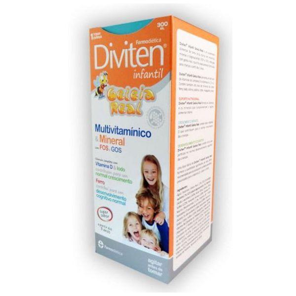 Farmodietica Diviten infantil xarope 300ml