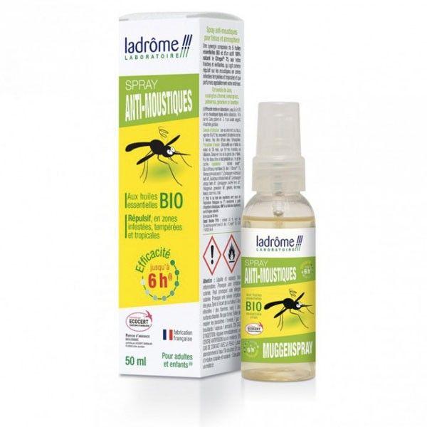 ladrome spray repellent with essential oils bio 50ml kuantokusta. Black Bedroom Furniture Sets. Home Design Ideas