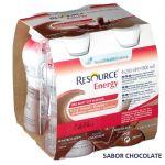 Nestlé Resource Energy Chocolate 4x200ml - 5389