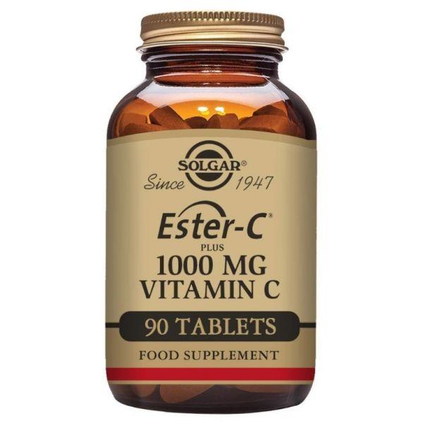Solgar Ester-C Plus 1000mg Vitamin C 90 Comprimidos