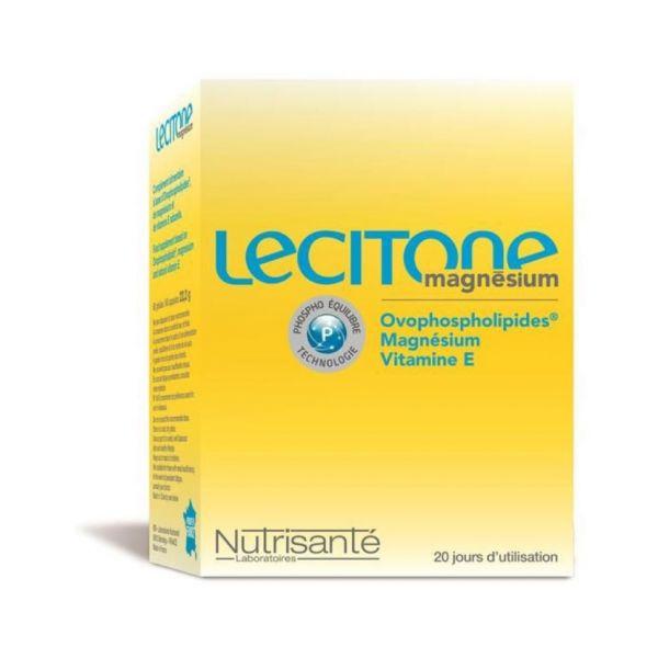 Nutrisanté Lecitone Magnésio 60 cápsulas