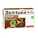 Super Diet Shiitake + Bio Shiitake, Reishi, Maitake 20 ampolas de 15Ml
