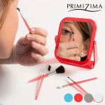 Primizima Espelho com Pincéis de Maquilhagem x6