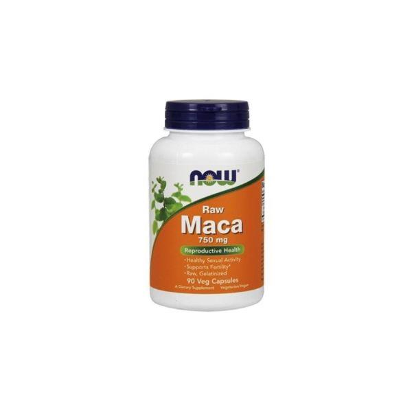 Now Maca Raw 750mg 6:1 90 Cápsulas