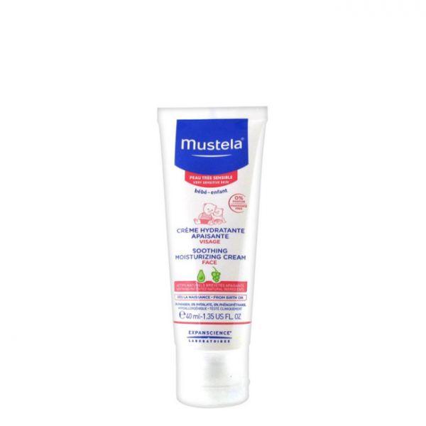Mustela Creme Hidratante Calmante Facial 40ml - Compara preços