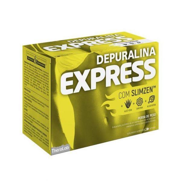 Depuralina Express Perda de Peso 60 Cápsulas