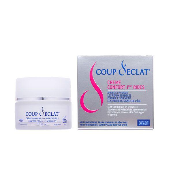 coup d 39 eclat 1st wrinkles comfort cream 50ml comparador de pre os. Black Bedroom Furniture Sets. Home Design Ideas