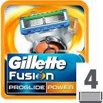Gillette Fusion Proglide Power Lâminas x4 Recarga
