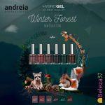 """Andreia Verniz Hybrid Gel Coleção """"Winter Forest"""" x6"""