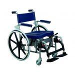 Orthos XXI Cadeira de Banho/Sanitária Roda Grande Inox Arctic