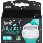 Wilkinson Sword Intuition Sensitive Care Lâminas x3 Recarga