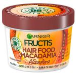Garnier Fructis Macadamia Hair Food Máscara Alisadora Cabelo Rebelde 390ml