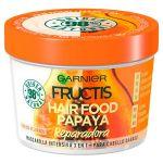 Garnier Fructis Papaya Hair Food Máscara Renovadora Cabelo Danificado 390ml