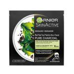 Garnier Skin Naturals Pure Charcoal Black Tissue Mask 28g
