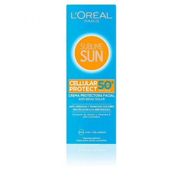 Protetor Solar L'Oreal Sublime Sun Facial Cellular Protect SPF50 75ml