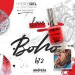 Andreia Verniz Hybrid Gel Fusion Color H72 Love Vermelho Coração