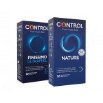 Control Kit Preservativos Nature 12 Unidades + Preservativos Ultra Feel 10 Unidades
