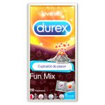 Durex Preservativos Love Sex Fun Explosão de Prazer Fun Mix x10